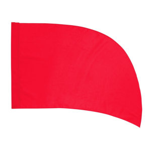 Arced (PCS) Practice Flag – Red